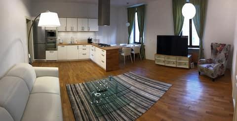 Luxusní byt v historickém centru Brna s parkováním