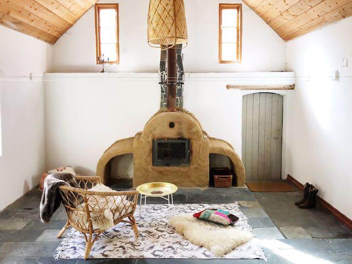 Unique farm house studio in Eco-park in Österlen