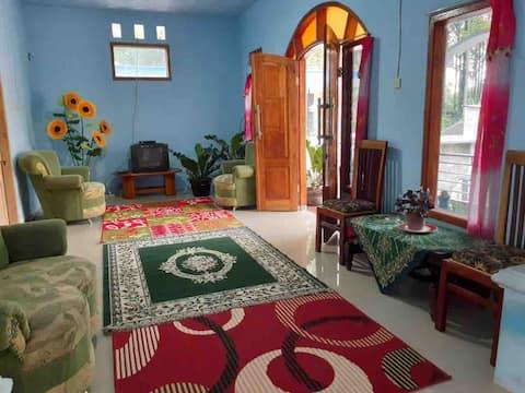 room near tumpak sewu with semeru view