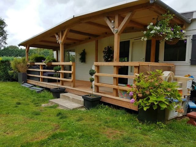 Chalet in heerlijk rustig & prachtig Vechtdal - Dalfsen - Hytte (i sveitsisk stil)