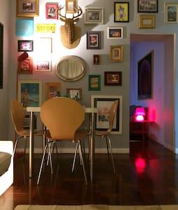 Apto estiloso de solteiro no centro da cidade - Piracicaba - Apartment