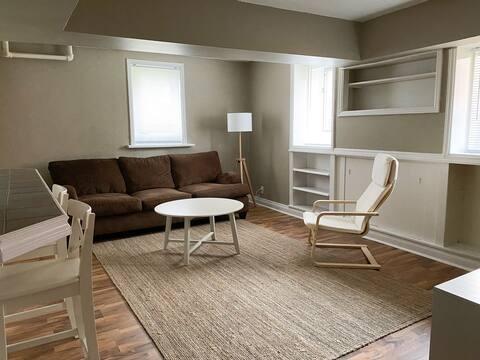 2-Bedroom + Den Character Apartment