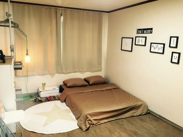 Simple&Cozy Room(5min from Airport) - 제주시