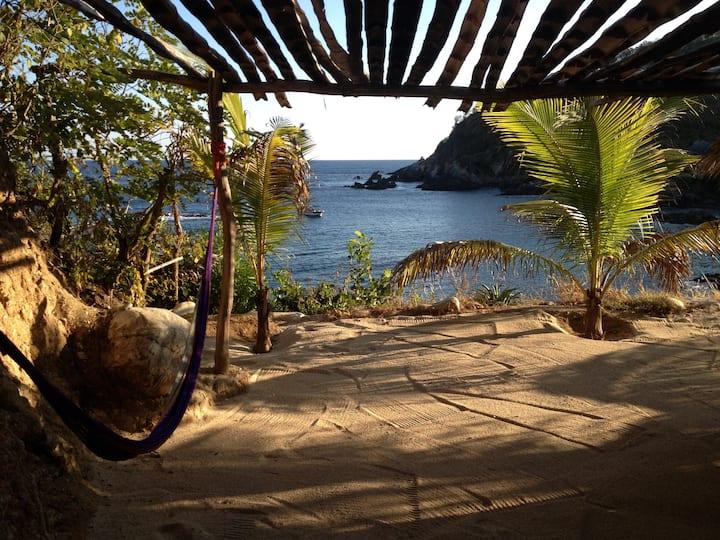 Cabana sobre Roca