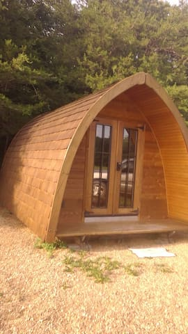 The lodge pod @ Share the Farm