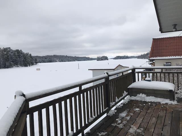 Lake front home in beautiful west Muskoka.