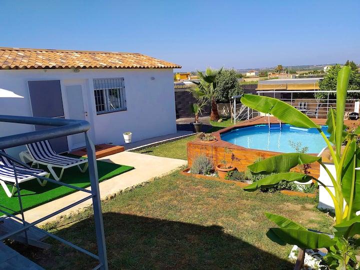 Villa privada para una escapada tranquila en Cádiz