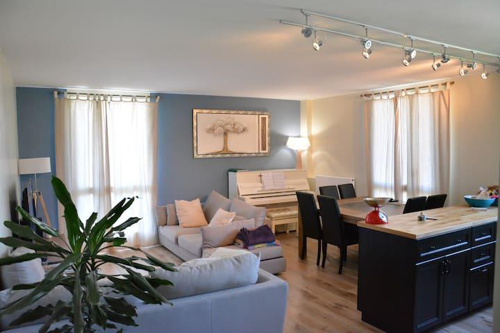 Appartement spacieux proche de Tours - Joué-lès-Tours - Apartment