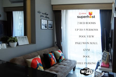 2BR+WIFI TANGLIN 5th Floor Pool View PAKUWON MALL