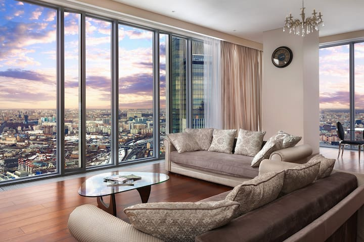 MoscowCity Apartment 74 Floor