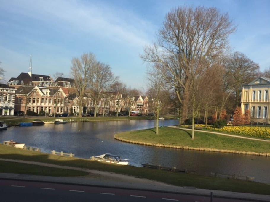 View from house on Schotersingel (canal)