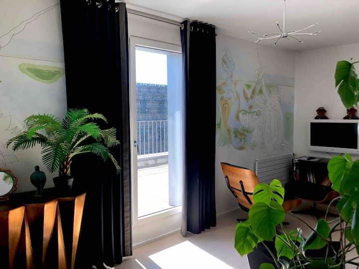Chambre avec salon Cocteau 32m2