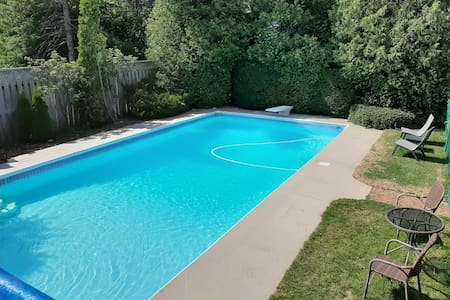 New Minas with Breakfast & Pool - Seaglass room