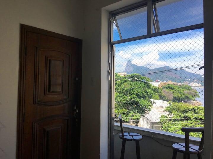 Melhor bairro do Rio,  vista para mar e montanha