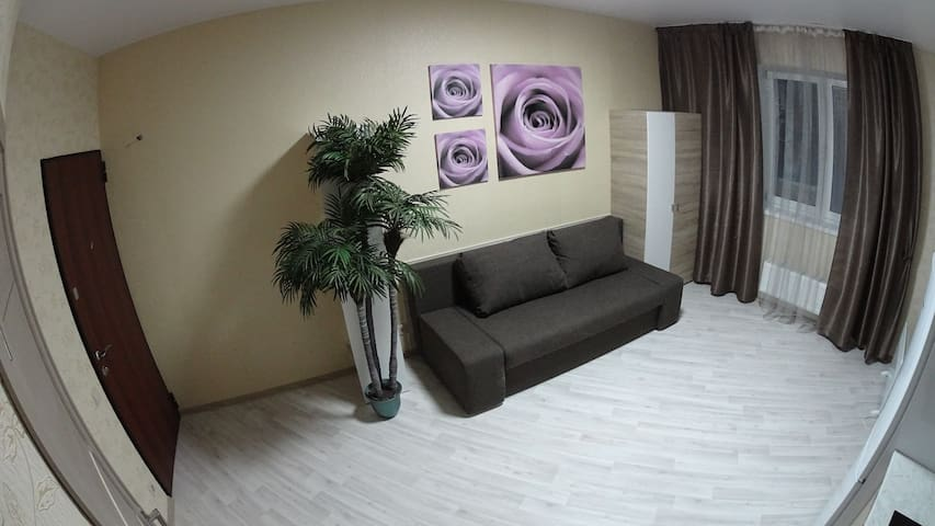 Cozy studio in the city center - Domodedovo - Gjestehus