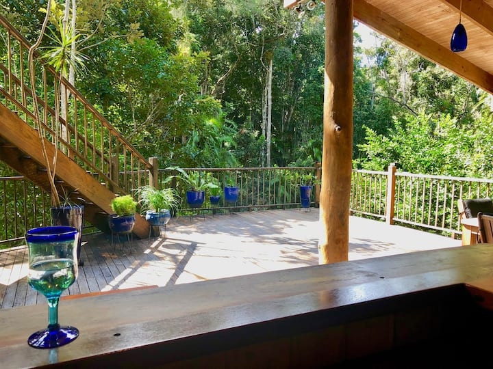 Rainforest Chalet - For Nature Lovers
