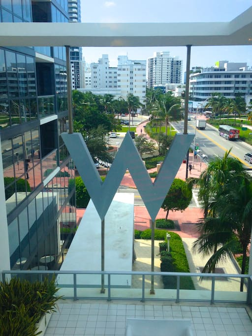 The W is in the heart of Miami Beach