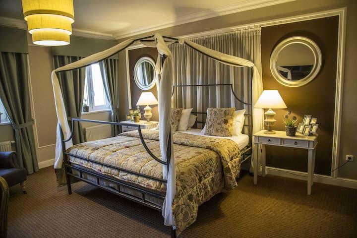 Dvojlůžkový pokoj DELUXE v hotelu Amálka***