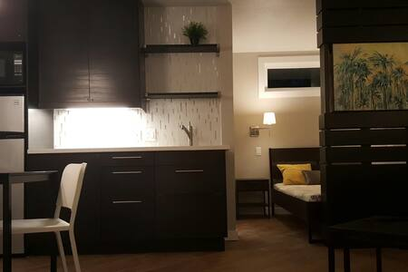 Brand New Modern Studio on lake - Montgomery - Apartamento