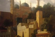 Our neighbourhood in a 1790 (Thomas Daniell) painting