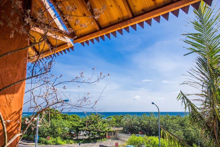 墾丁阿飛衝浪旅店-新峇里島風雙人房(301)