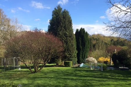 Charming home w/ 1+ acre garden - Overijse - Talo