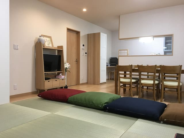 New House 3LDK ☆JR Nara 4min☆Free Parking - Nara - Dom