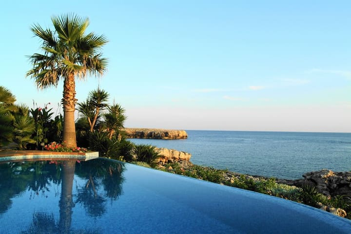 Villa right on the coast in Cap Den Font, Menorca
