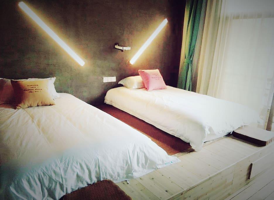 海景双床房