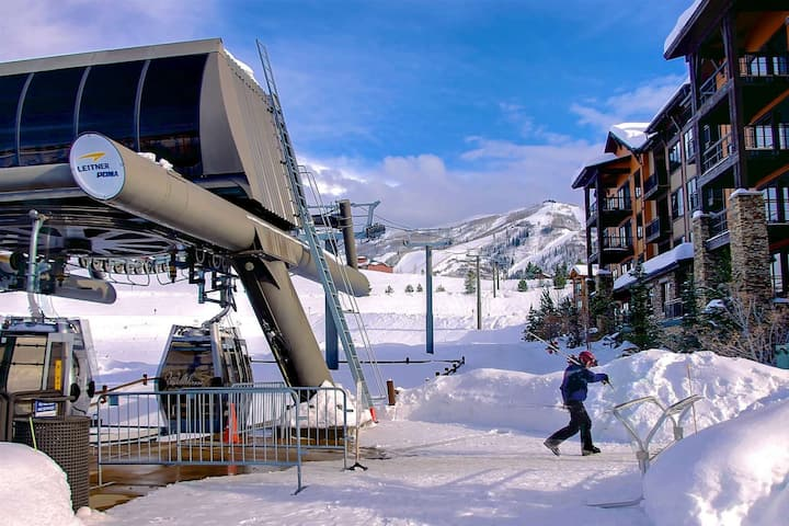 Private Gondola to Ski/Town Shuttle, Open Hot Tubs (3)/Pool/Gym, Garage, Elevator, Immaculate