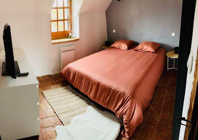 Maison atypique de Tisserand