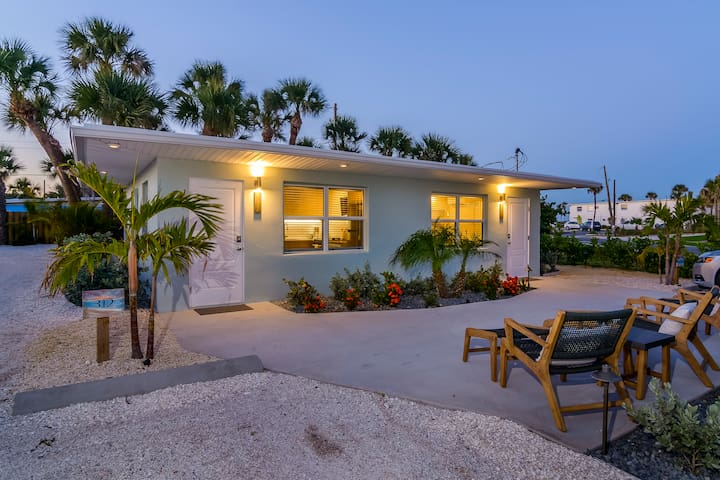 Entire Duplex w/Private Patio Next to the Beach