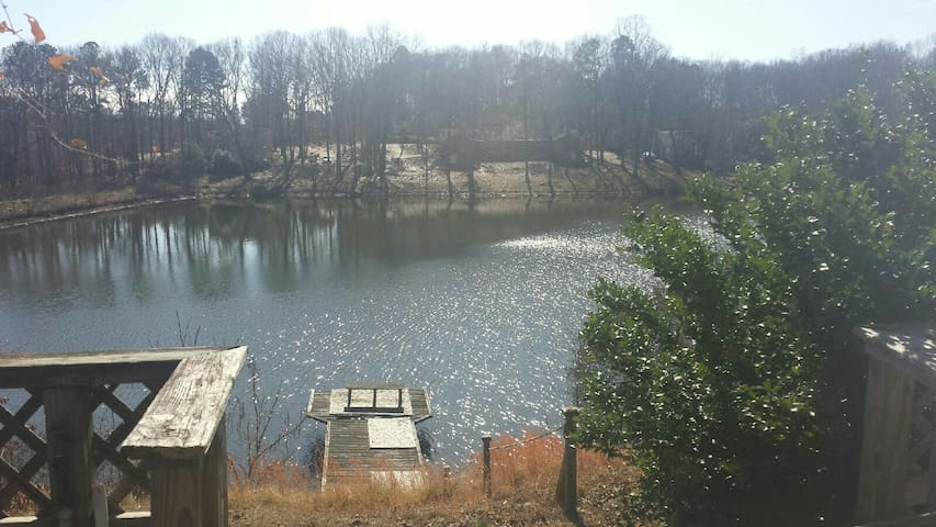 House on the Lake - Douglasville - Huis