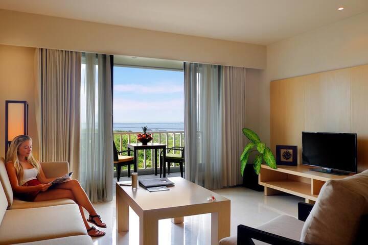 1 delightful bedroom in the city of Bali & B'fast