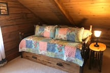 Daybed in loft