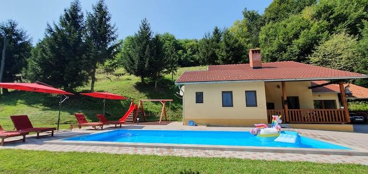Vila Lasovic **** + pool + sauna + jacuzzi
