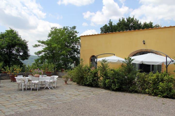 Le Massucce Farmhouse in  Chianti - San Casciano in Val di Pesa - House