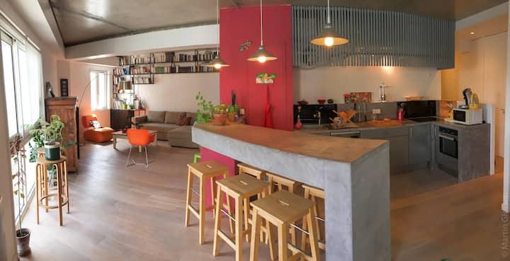 La Rochelle centre: appartement type loft