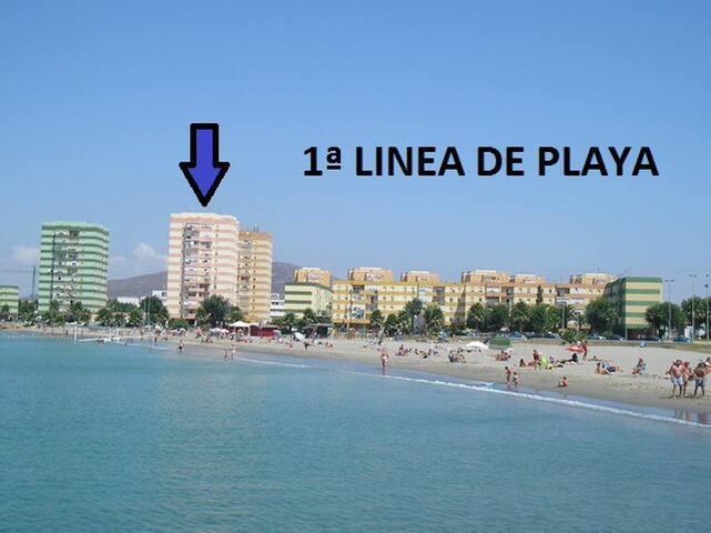 CASA CON VISTAS EN 1ª LINEA PLAYA JUNTO FRONTERA - La Línea de la Concepción - Flat
