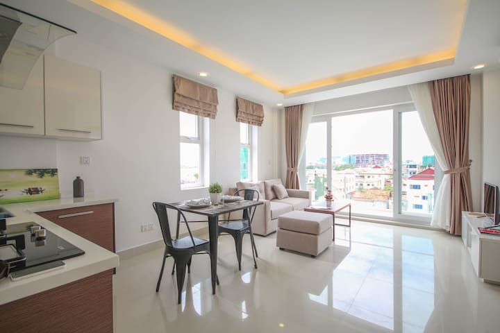 Relax Space in Charming Apartment - Phnom Penh - Apartamento