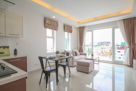 Relax Space in Charming Apartment - Phnom Penh