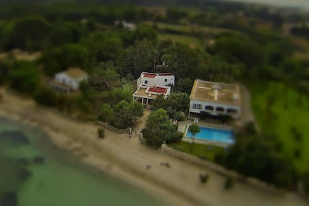 Gran casa familiar en la playa - アルクディア - 別荘