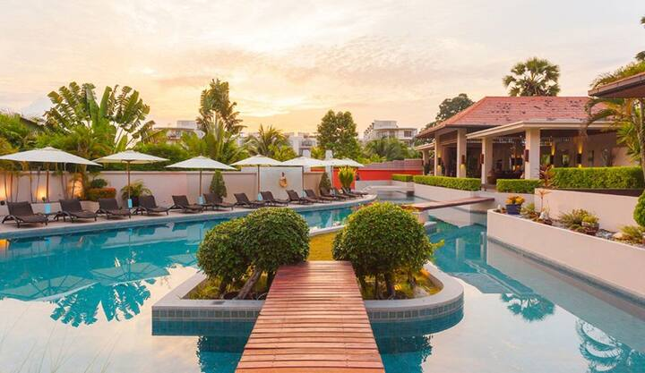 Luxury beachapartment at Dewa Nai Yang Phuket