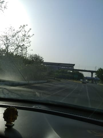 Near by  metro is Expo Mart one