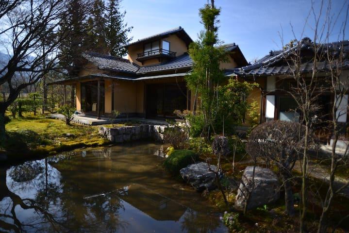 鵬琳庵:後立山連峰の裾野の百姓家 - Ōmachi-shi - Casa