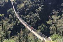 Ponte tibetano a Montecarasso