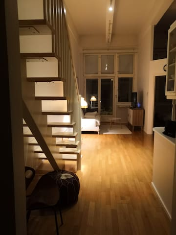 Unigue loft apartment in the heart of Turku.