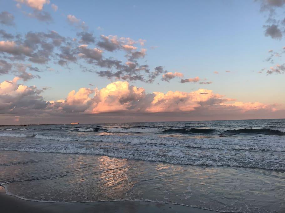 Nearby Narragansett Beach