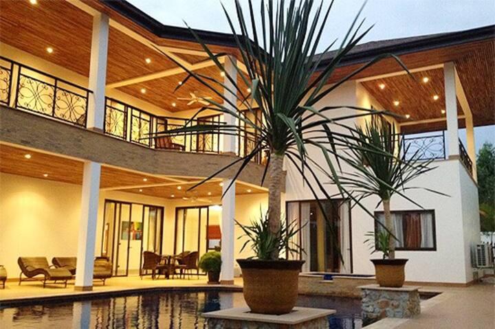 5 Bd/6bth  Private Pool Villa So Healthy Environ!