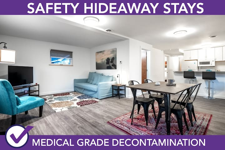 Safety Hideaway - Medical Grade Clean Home 115